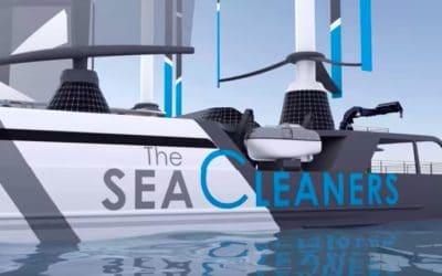 Le Manta, nouveau bateau dépollueur de Yvan Bourgnon